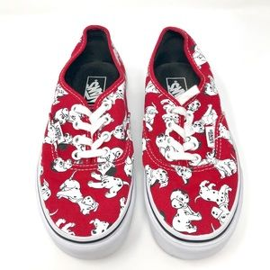 Disney 101 Dalmatians Vans Size 5.5 Women 4 Men